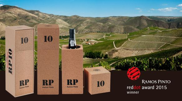 Ramos Pinto Red Dot Award 2015